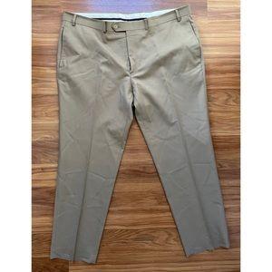 Ralph Lauren Total Comfort Dress Pants — Khaki